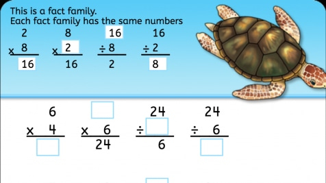 Multiplication Fact Family