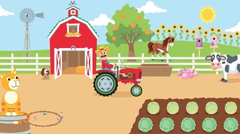 Farmer Cyrus' Circles