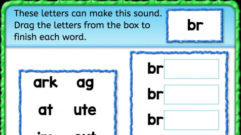 Beginning Sounds 'br'