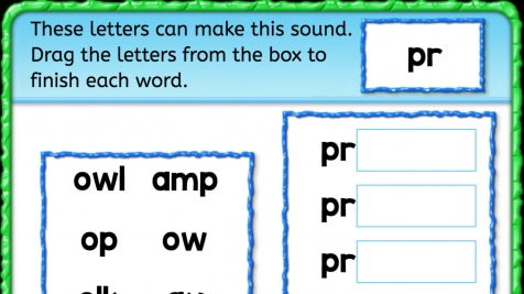 Beginning Sounds 'pr'
