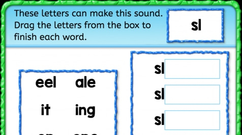 Beginning Sounds 'sl'