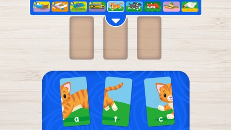 Three Letter Words Puzzle Play