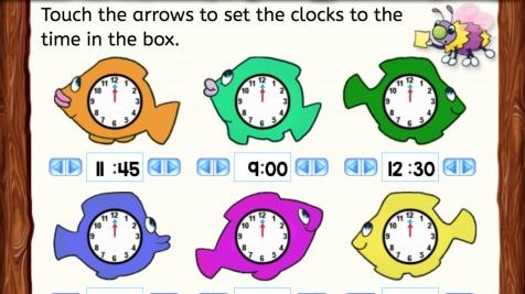 Set the Clocks
